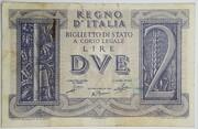 2 Lire - Victor Emanuel III – obverse