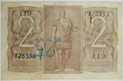 2 Lire - Victor Emanuel III – reverse
