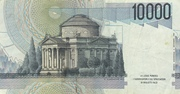 10000 Lire (Volta) – reverse