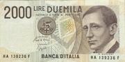 2000 Lire (Marconi) – obverse
