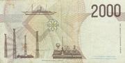 2000 Lire (Marconi) – reverse