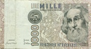 1000 Lire (Marco Polo) – obverse