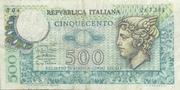 500 Lire (Mercurio) – obverse
