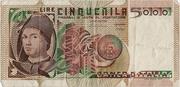 5000 Lire (Antonello da Messina) -  obverse