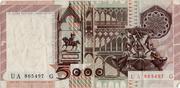 5000 Lire (Antonello da Messina) -  reverse