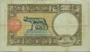 50 Lire -  reverse