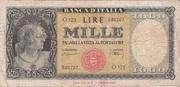 1000 Lire Type 1947 – obverse