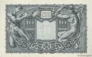 10 Lire -  reverse