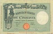50 Lire (Big L) – obverse