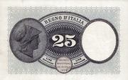 25 Lire -  reverse