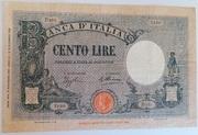 100 lire Barbetti (Azur) – obverse
