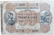 30 lire Credito Agicolo Industriale Sardo – obverse