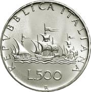 500 Lire -  obverse