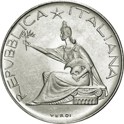 500 Lire (Unification Centennial) -  obverse