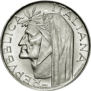 500 Lire (Dante Alighieri) -  obverse