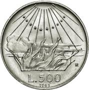 500 Lire (Dante Alighieri) -  reverse
