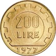 200 Lire -  reverse