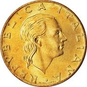 200 Lire (Palazzo Spada) -  obverse