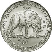 200 Lire (Flora & Fauna) -  obverse