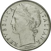 100 Lire (small type) -  obverse