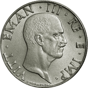 50 Centesimi - Vittorio Emanuele III (magnetic) – obverse
