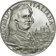 5000 Lire (Giovanni Antonio Canal) – obverse