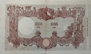 1,000 Lire – reverse