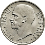 20 Centesimi - Vittorio Emanuele III – obverse