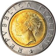500 Lire (F.A.O. - IFAD) -  obverse