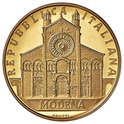 50 000 Lire (Cathedral of Modena) – obverse