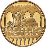 50 000 Lire (Church of San Giovanni degli Eremiti) – obverse