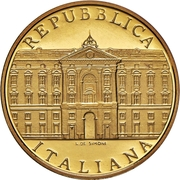 50 000 lire (Reggia di Caserta) – obverse