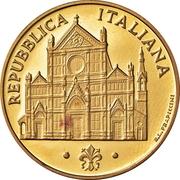 100 000 Lire (Basilica of Santa Croce) -  obverse
