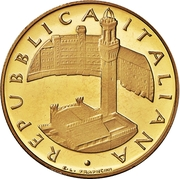 100 000 Lire (Torre del Mangia) – obverse