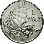 10 000 Lire (The Sky) – reverse