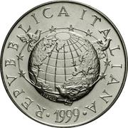 5000 Lire (The Earth) – obverse