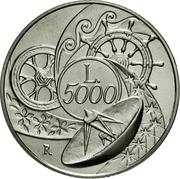 5000 Lire (The Earth) – reverse