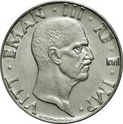 50 Centesimi - Vittorio Emanuele III (non-magnetic) – obverse
