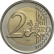 2 Euro (World Food Program) -  reverse