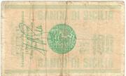 100 Lire (Banco di Sicilia) – reverse