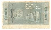 150 Lire (Banca popolare di Milano) – reverse