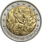2 Euro (European Constitution) – obverse