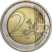 2 Euro (European Constitution) – reverse