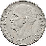 20 Centesimi - Vittorio Emanuele III (magnetic; trial strike) – obverse