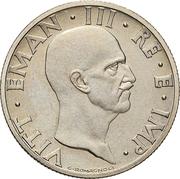 50 Centesimi - Vittorio Emanuele III (Trial strike) – obverse
