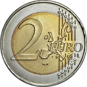 2 Euro (2006 Winter Olympics - Turin) -  reverse