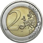 2 Euro (Human Rights) – reverse
