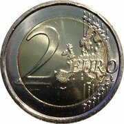 2 Euro (Count of Cavour) – reverse