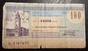 100 lire - Banca Popolare di Bergamo – obverse