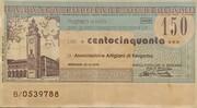 150 lire - Banca Popolare di Bergamo – obverse